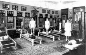 Les équipements de Pilates
