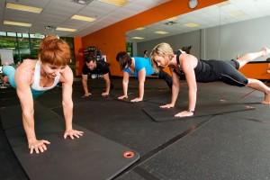 Cours collectif de pilates